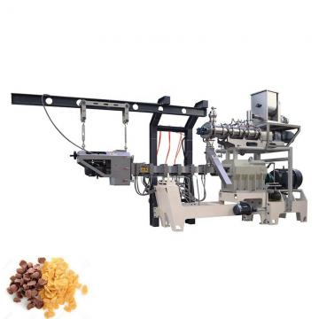 M65 Automatic corn flakes making machine breakfast cereals processing line core flakes extrusion production line