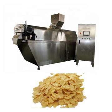 High Automation Production Line Breakfast Snack Extruder Corn Cereal Flakes Making Machine