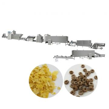 High quality oat flakes extruder machine corn flakes plant mill