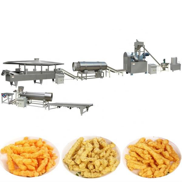 Saibainuo corn snack food cheetos /nik nak/kurkure making machine production line with great price #1 image