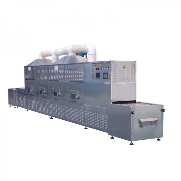 Industrial microwave dryer/continuous microwave dehydrator/tunnel type microwave oven #1 image