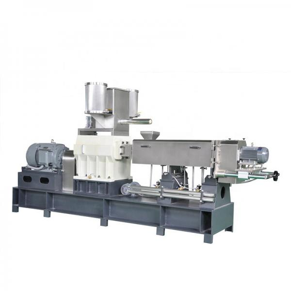 raw materials automatic extruded for pet dry food royal canin,pet dog,cat,bird fish food extruders machine for sale #1 image
